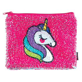 Magic Sequins Unicorn/Rainbow Pouch