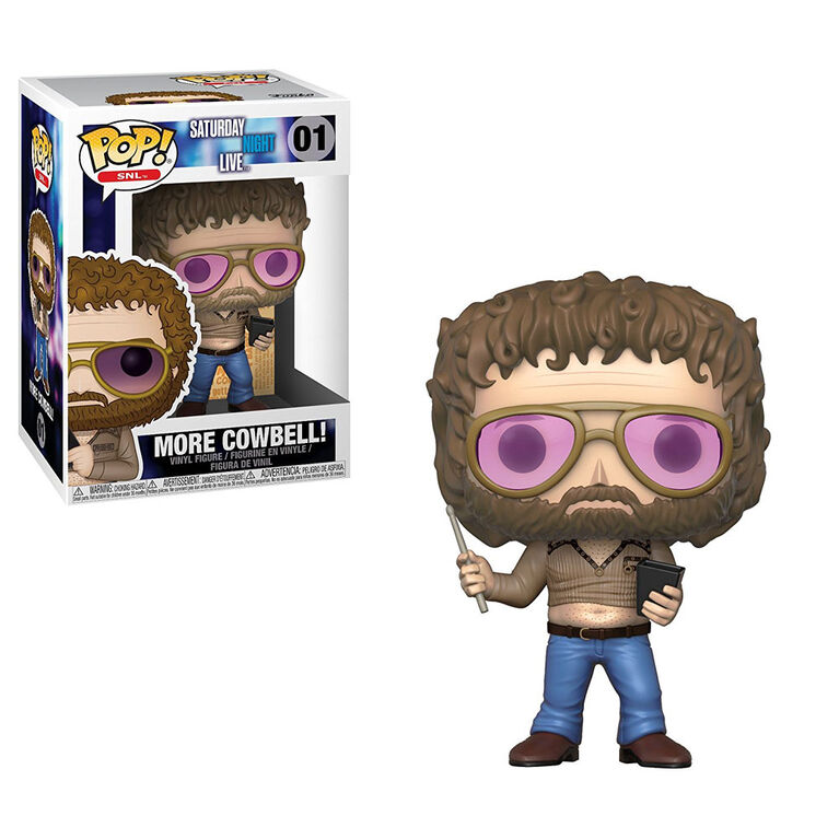 Funko Pop! Television: Saturday Night Live - More Cowbell Vinyl Figure