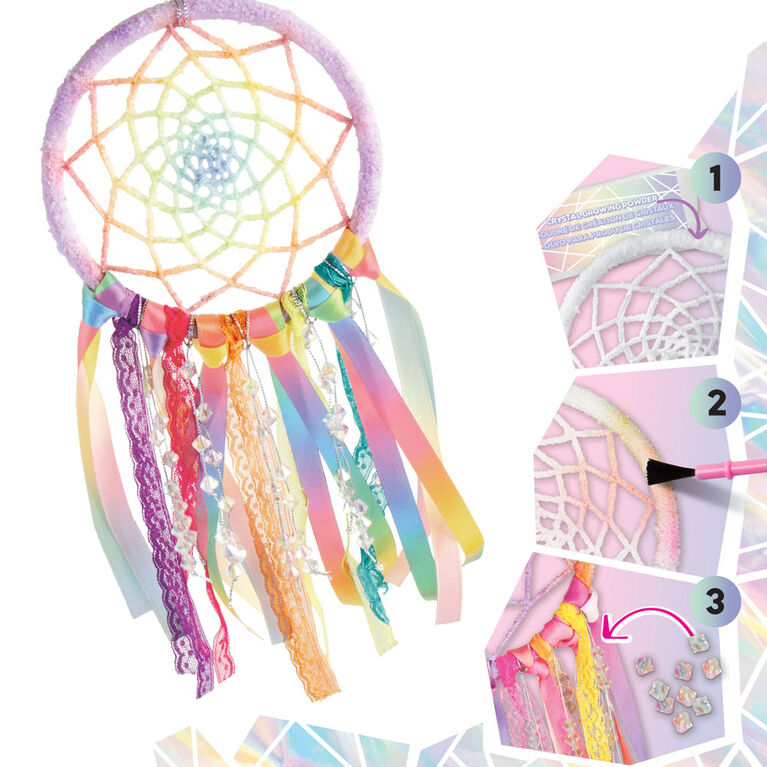 Grow Your Own Crystal Dreamcatcher