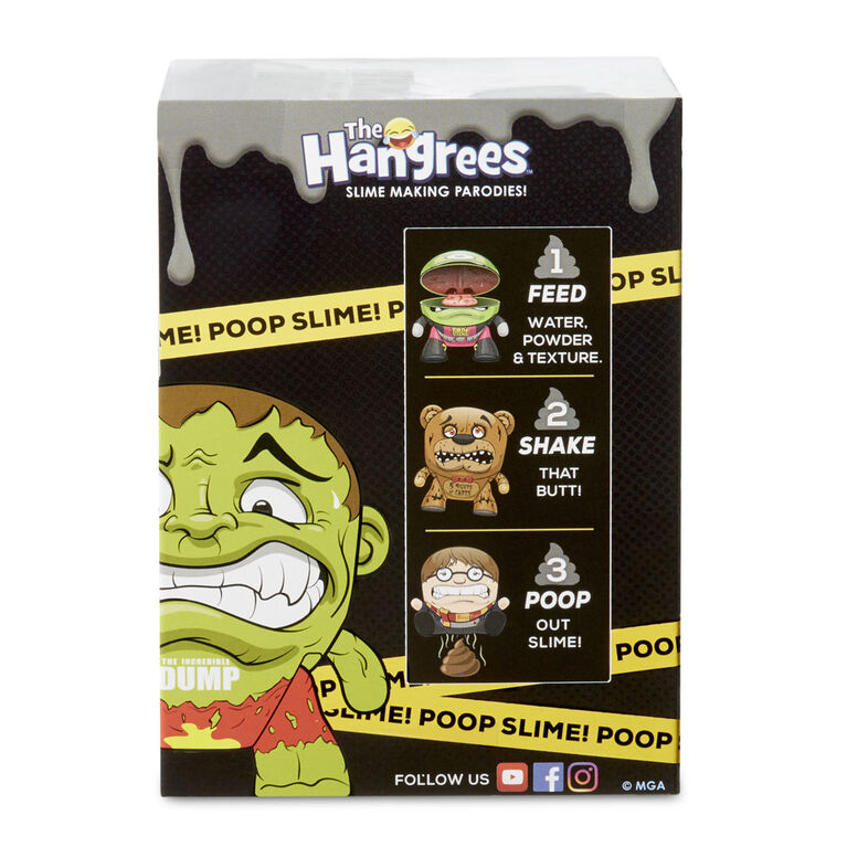 The Hangrees: The Walking Dookie Collectible Parody Figure with Slime