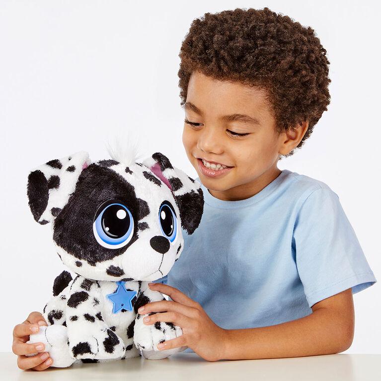 Animal en peluche Rescue Tales à adopter: Peluche dalmatien interactive - Édition anglaise