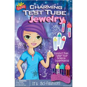 Scientific Explorer Charming Test Tube Jewelry