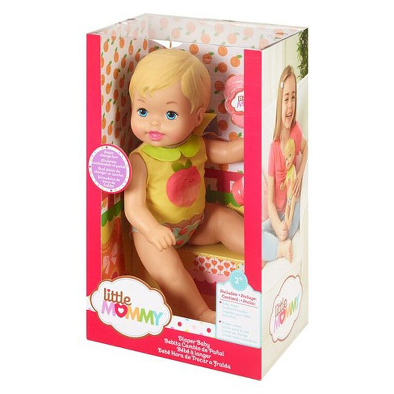 Little Mommy Diaper Baby Doll - R Exclusive