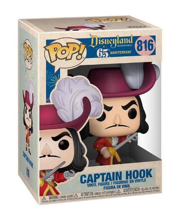 Funko POP! Disney: Disneyland 65th - Captain Hook