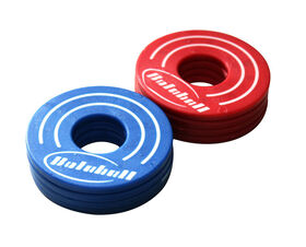 Blue And Red Washers