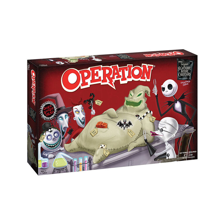 Jeu Operation: Tim Burton's The Nightmare Before Christmas Collector's Edition
