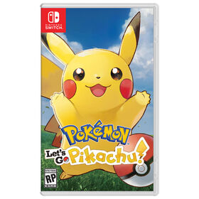 Nintendo Switch - Pokémon Let's Go, Pikachu!