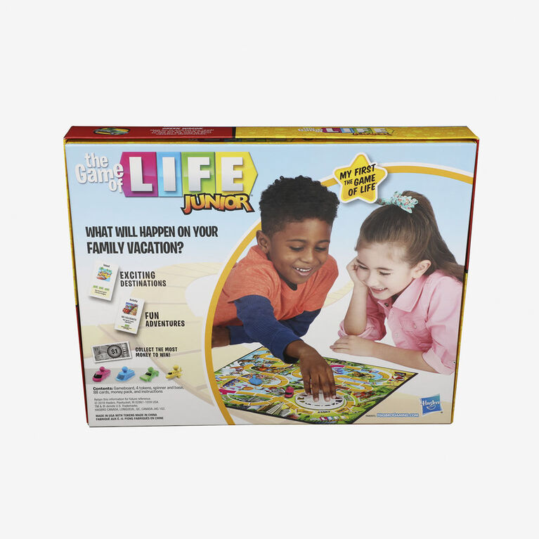 The Game of Life Junior Board Game (English Version)