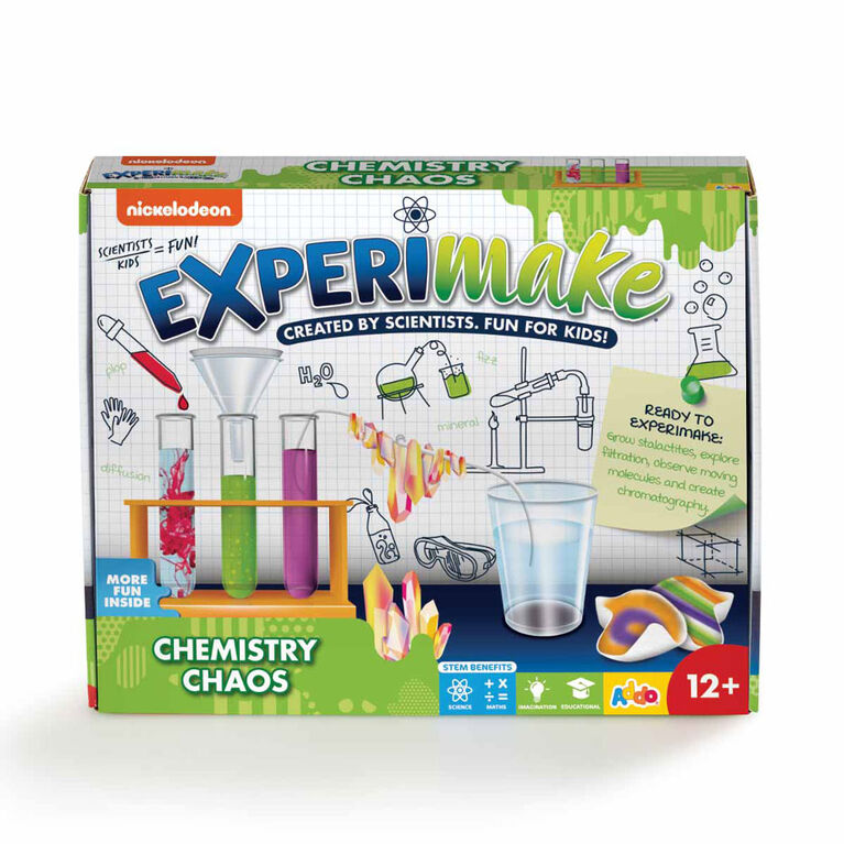 Nickelodeon Experimake Chemistry Chaos Science Kit - R Exclusive - English Edition