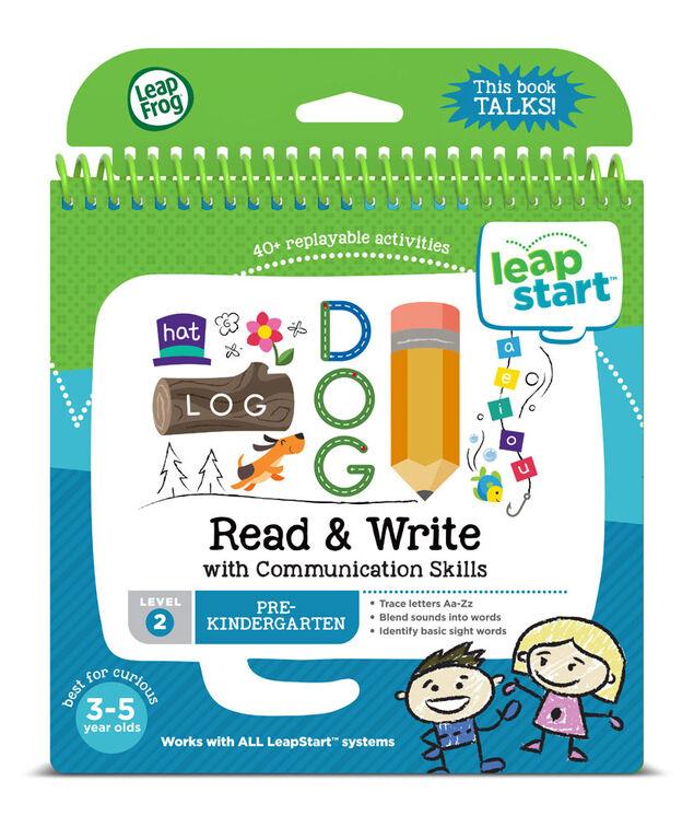 Livre d'activités pour la grande maternelle LeapStart de LeapFrog - Lire et écrire- Version anglaise - Édition anglaise