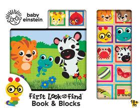 Book and Blocks - Baby Einstein - English Edition