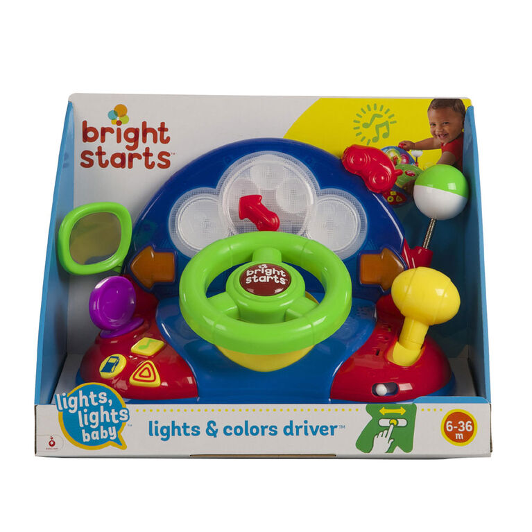 Bright Starts™ - Lights, Lights Baby™ Lights & Colors Driver™