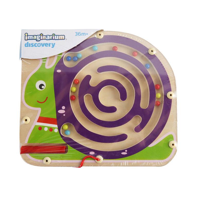 Imaginarium Discovery - Wooden Magnetic Maze Puzzle Assortment - Snail