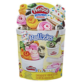 Play-Doh Kitchen Creations Rollzies Rolled Ice Cream Set