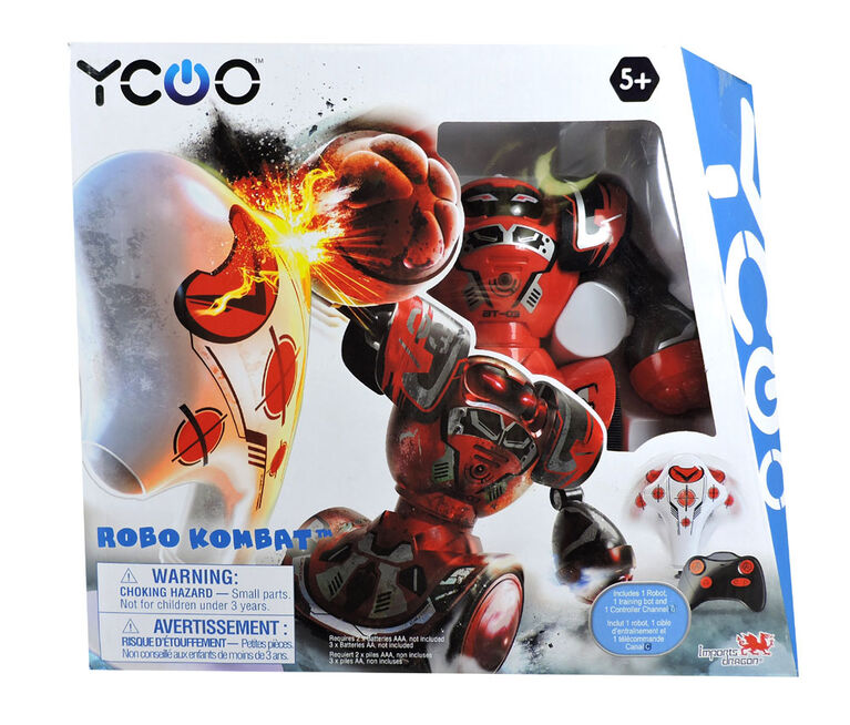 Robo Kombat Single Pack - Red