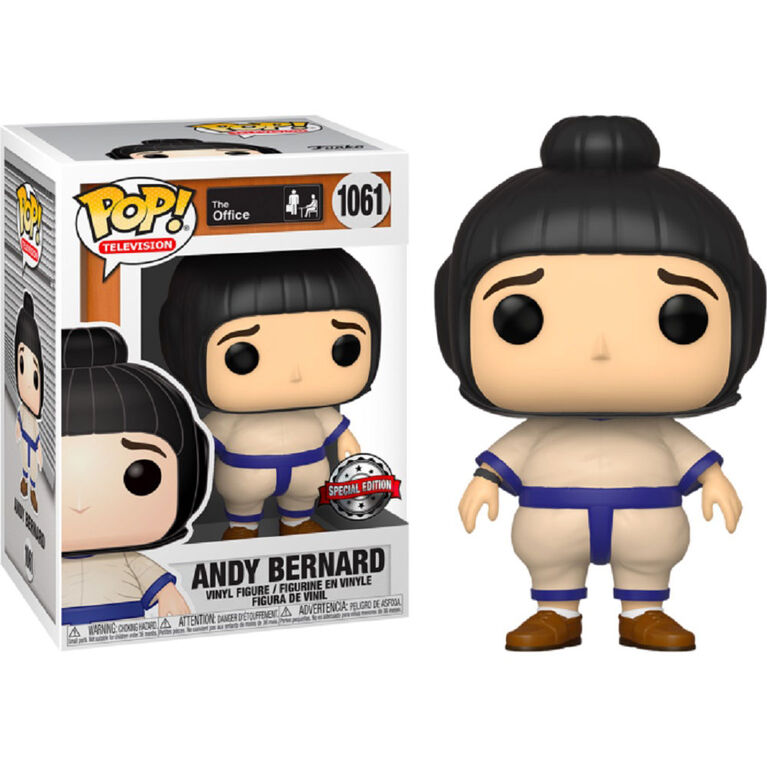 Funko POP! TV: The Office - Andy Bernard - R Exclusive