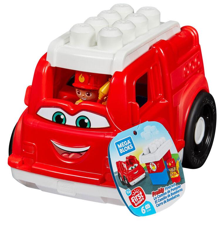 Mega Bloks - Camion de pompier - Freddy
