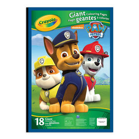 Crayola - Giant Colouring Pages - Paw Patrol