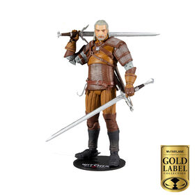 McFarlane Gold Label Collectors Series: Witcher - Geralt Figure - R Exclusive  - PRE-ORDER, SHIPS JAN 28, 2021