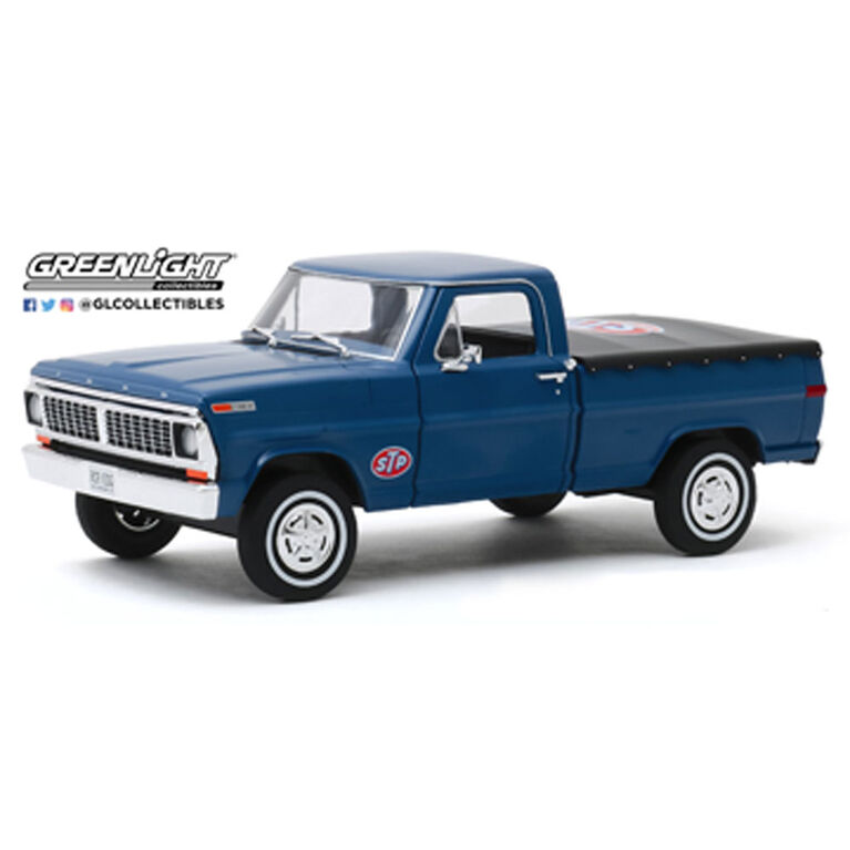 1:24 Running on Empty - 1970 Ford F-100 with Bed Cover - STP - English Edition