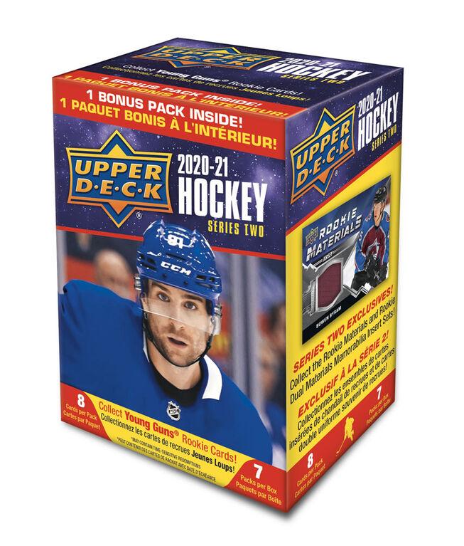 2020/21 Upper Deck Series 2 Hockey Blaster