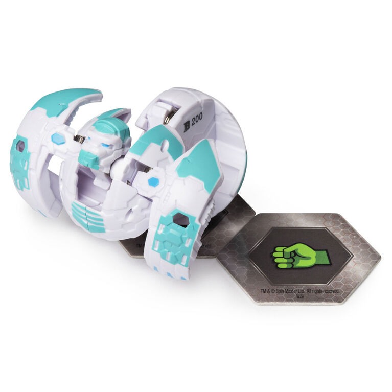 Bakugan, Baku-storage Case (White) for Bakugan Collectible Action Figures