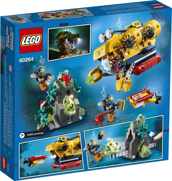 LEGO City Oceans Le sous-marin d'exploration 60264