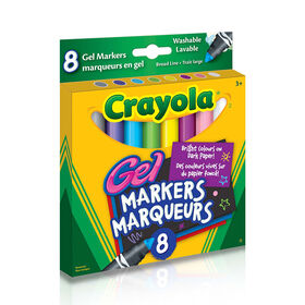 Crayola Washable Gel Markers,8 Ct
