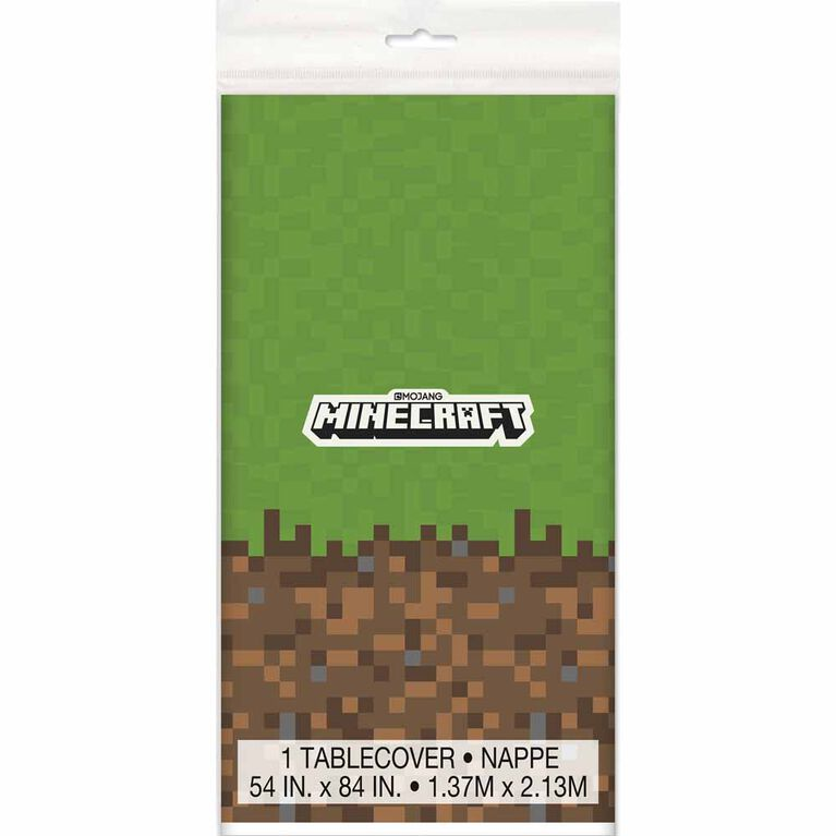 """Minecraft tablecover, 54""""x84"""""""