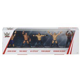 WWE Mini Figures 5-Pack