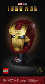 LEGO Super Heroes Casque d'Iron Man 76165