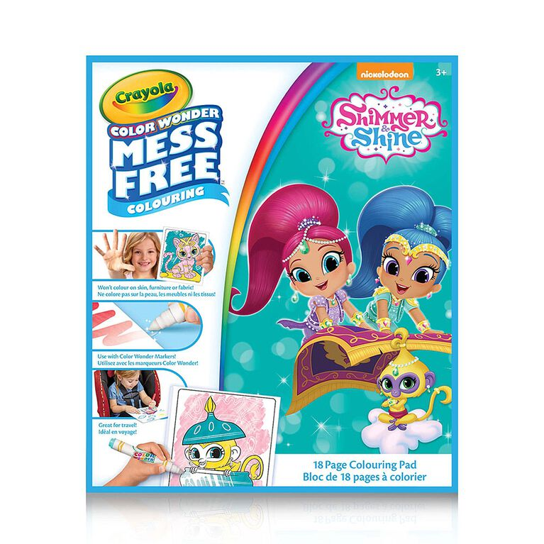 Color Wonder Book, Shimmer & Shine