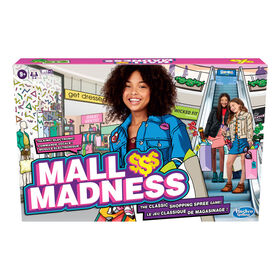 Mall Madness Game, Talking Electronic Shopping Spree Board Game - French Edition