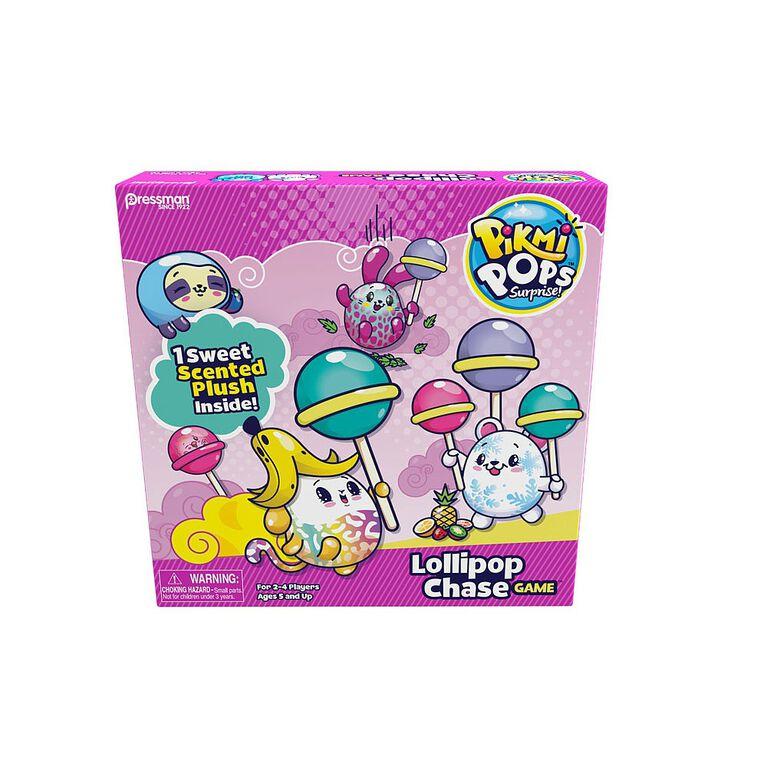 Pressman Toys: Pikmi Pops Lollipop Chase Game - English Edition