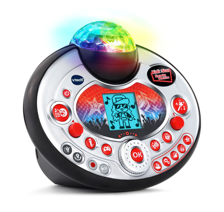 VTech® Kidi Star Karaoke Machine™ (Black) - English Edition