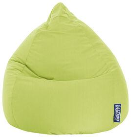 Gouchee Design - Beanbag Easy Fauteuil Poire Microfibre XL - Vert