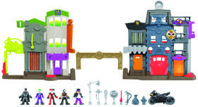 Fisher-Price Imaginext - DC Super Friends - Légendes de Batman - L'Allée du Crime - R Exclusif