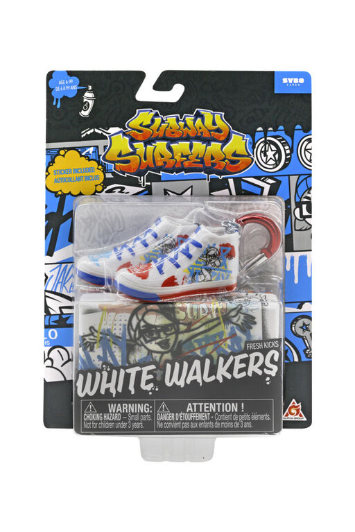 Subway Surfers Fresh Kicks - White Walkers - R Exclusive