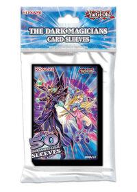 """Pochettes pour cartes """"Magicien Sombre"""" Yu-Gi-Oh! - Édition anglaise"""