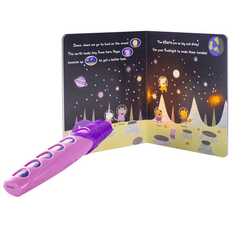 Peppa Pig – Moonlight Bright Book and Flashlight Set (Ensemble Clair de lune comprenant un livre et une lampe de poche)