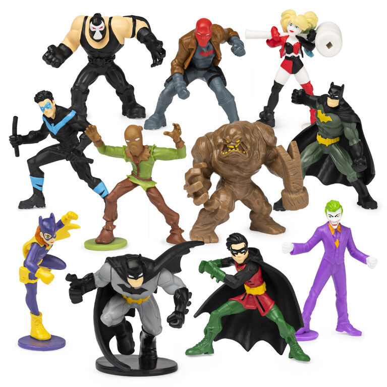 BATMAN, 2-Inch Scale Collectible Blind Box Mini Figure (Characters and Styles May Vary)