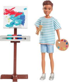 Barbie - Équipe Stacie - Poupée et accessoires d'art. - Notre Exclusivité