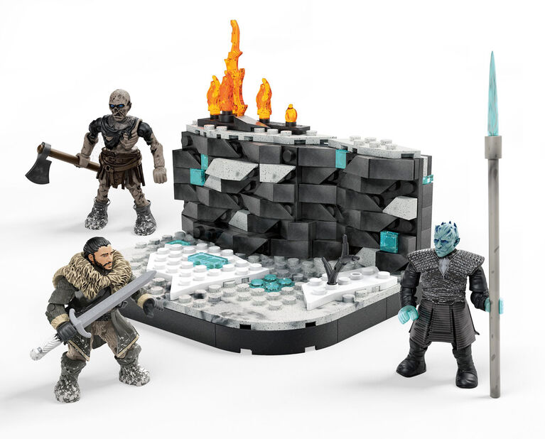 Mega Construx Game of Thrones Battle Beyond the Wall Building Set