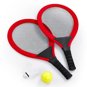 """Out and About 215"""" Racket Set Red - R Exclusive - English Edition"""