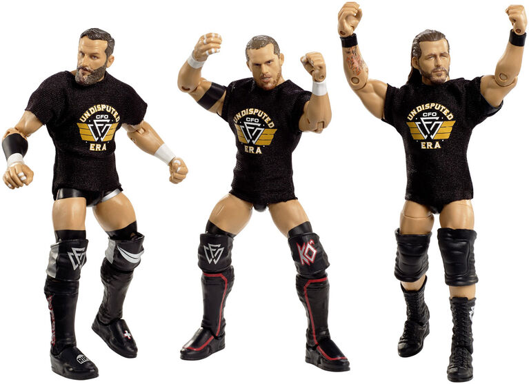 WWE - Epic Moments - Coffret de figurines articulées - The Undisputed Era.