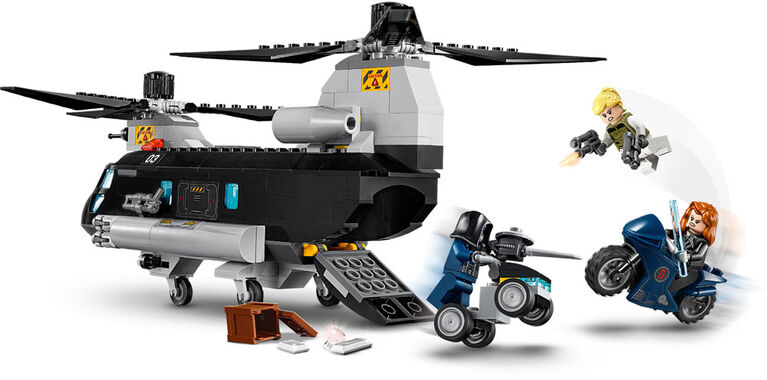 LEGO Super Heroes Marvel Black Widow's Helicopter Chase 76162