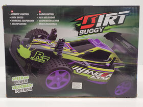 RC 1:18 Scale Dirt Buggy Green & Purple - R Exclusive