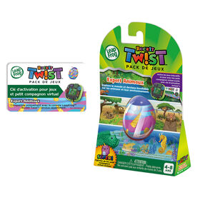 LeapFrog RockIt Twist Game Pack Animals, Animals, Animals - French Edition
