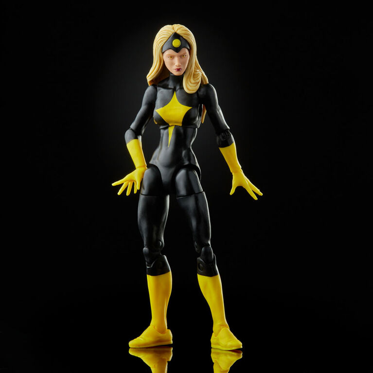 Hasbro Marvel Legends SeriesDarkstar Action Figure Includes 2 Accessories and 1 Build-A-Figure Part
