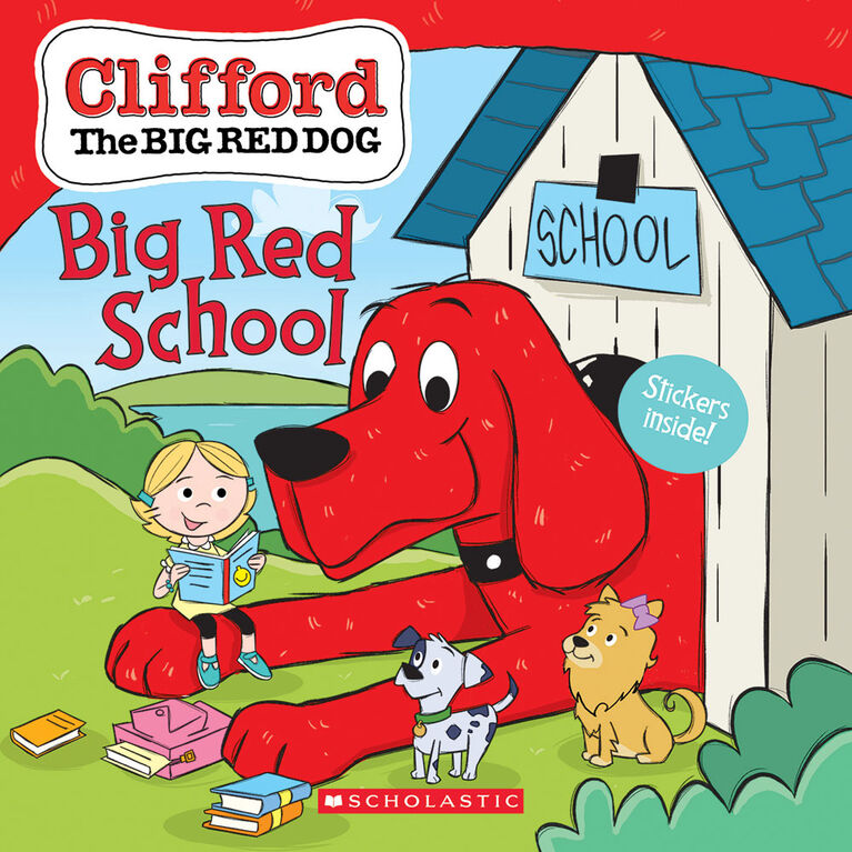 Scholastic - Clifford's Big Red School - Édition anglaise